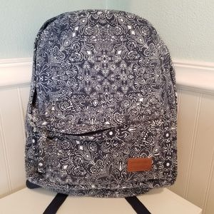 New Rip Curl blue and white backpack